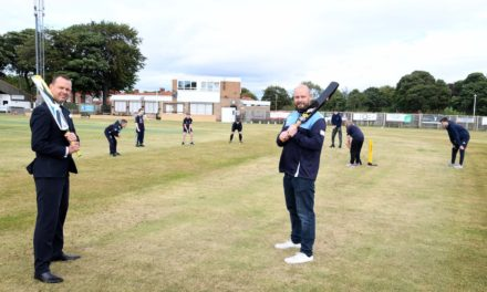 Whickham Cricket Club Seeing Clear Benefits From Newcastle Building Society Grant
