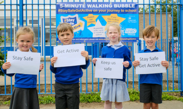 National campaign launched to encourage pupils to #StaySafeGetActive