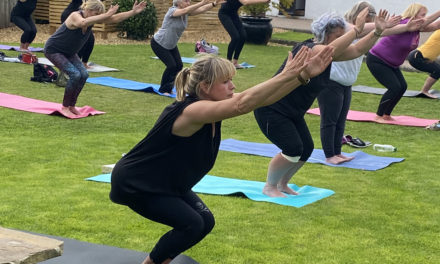 YOGA STRETCHES APPEAL OF SUNDERLAND SALON REDS