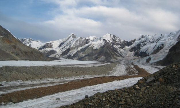 Blanket of rock debris offers glaciers more protection from climate change than previously known
