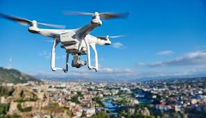 Drones and its flying behavior