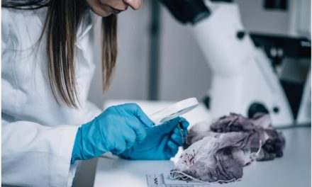 Forensic research proves that textile fibres can be transferred between clothing without contact