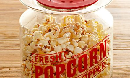 What are the types of popcorn making machines?