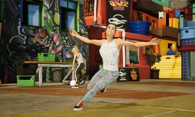 RACE AGAINST THE CLOCK TO SHOOT YOUR SHOT IN STREET POWER FOOTBALL'S TRICKSHOT MODE