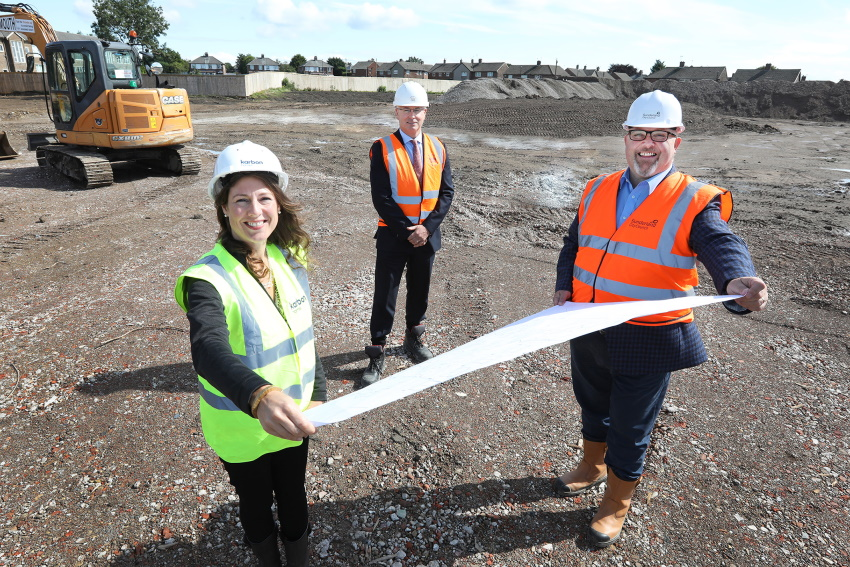 Construction begins on £20m affordable homes project in Sunderland