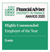 EXANTE crowned Highly Commended Employer of the year in UK FT Adviser awards