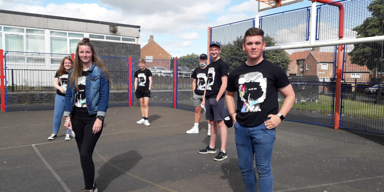 Gateshead teenagers spend their summer running a uniform donation scheme to help local families