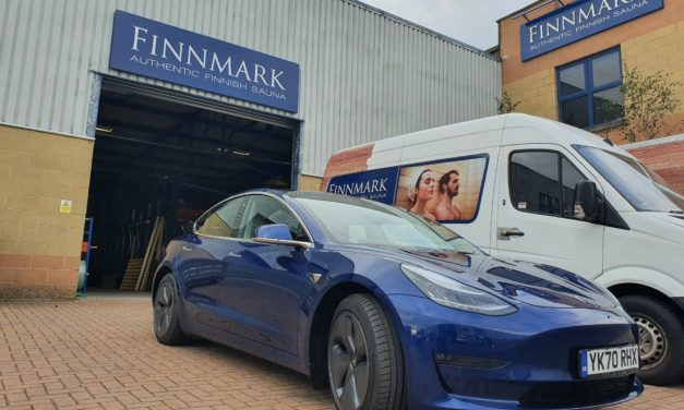 Finnmark Ltd picks green business travel solutions with Tesla