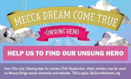 Meccabingo.com could be coming to your town to reward an unsung hero