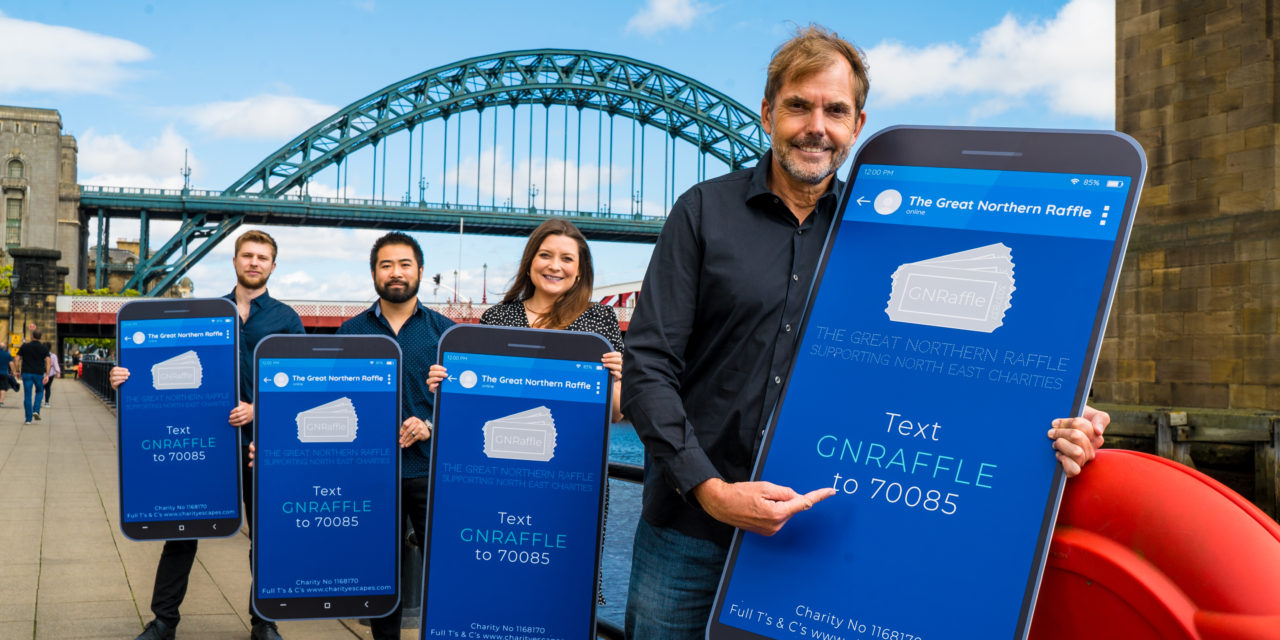 NEW INITIATIVE FOR GENEROUS NORTH EASTERNERS TO SUPPORT LOCAL CHARITIES