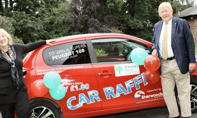 Lucky winner set to drive away in free car