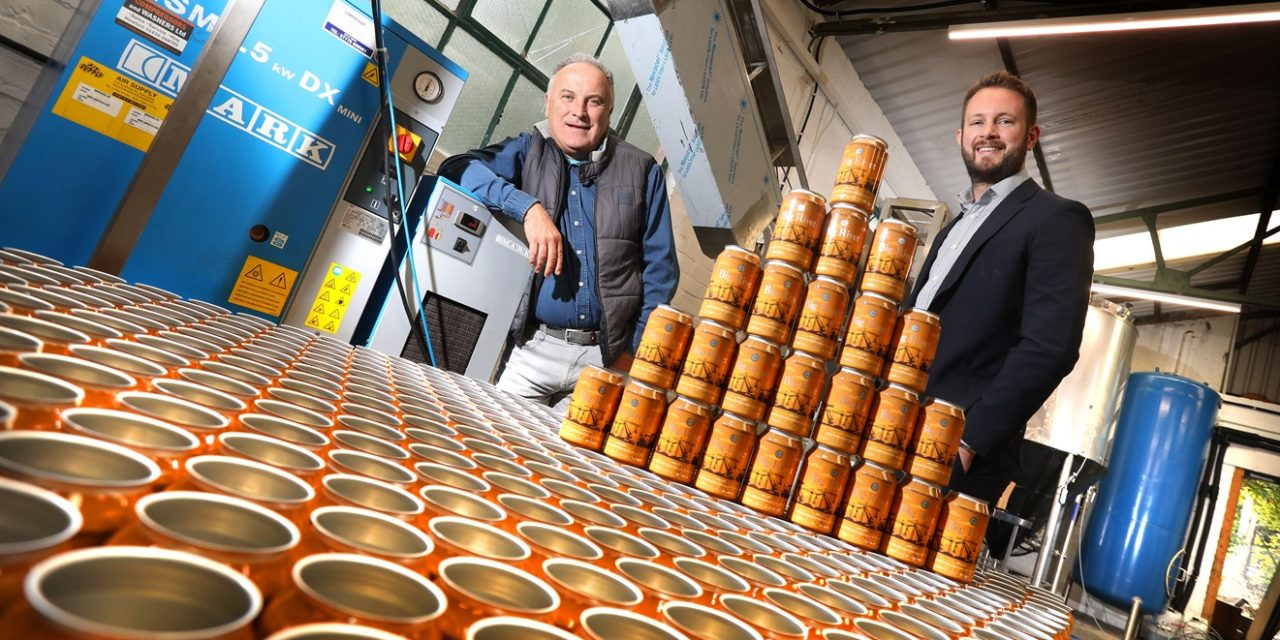 Expanding Dunston Craft Brewery Raising A Glass To NEL Investment Support