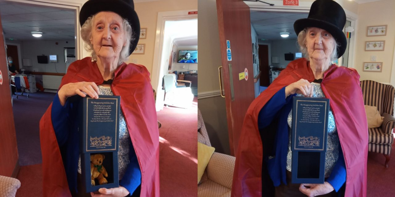 Magic Joyce wows fellow residents at Saltburn care home