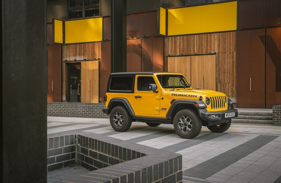 LIVE LIFE IN FULL COLOUR: JEEP OFFERS FREE PAINT UPGRADES ON WRANGLER TO HELP LIGHTEN DRIVERS' MOOD
