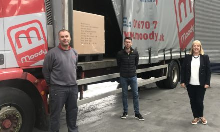 Moody Logistics delivers on huge demand for inflatable hot tubs