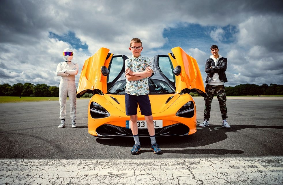10-YEAR OLD'S GROUND-BREAKING 'SUPERCAR OF THE FUTURE' WINNING DESIGN UNVEILED BY CBBC'S BLUE PETER
