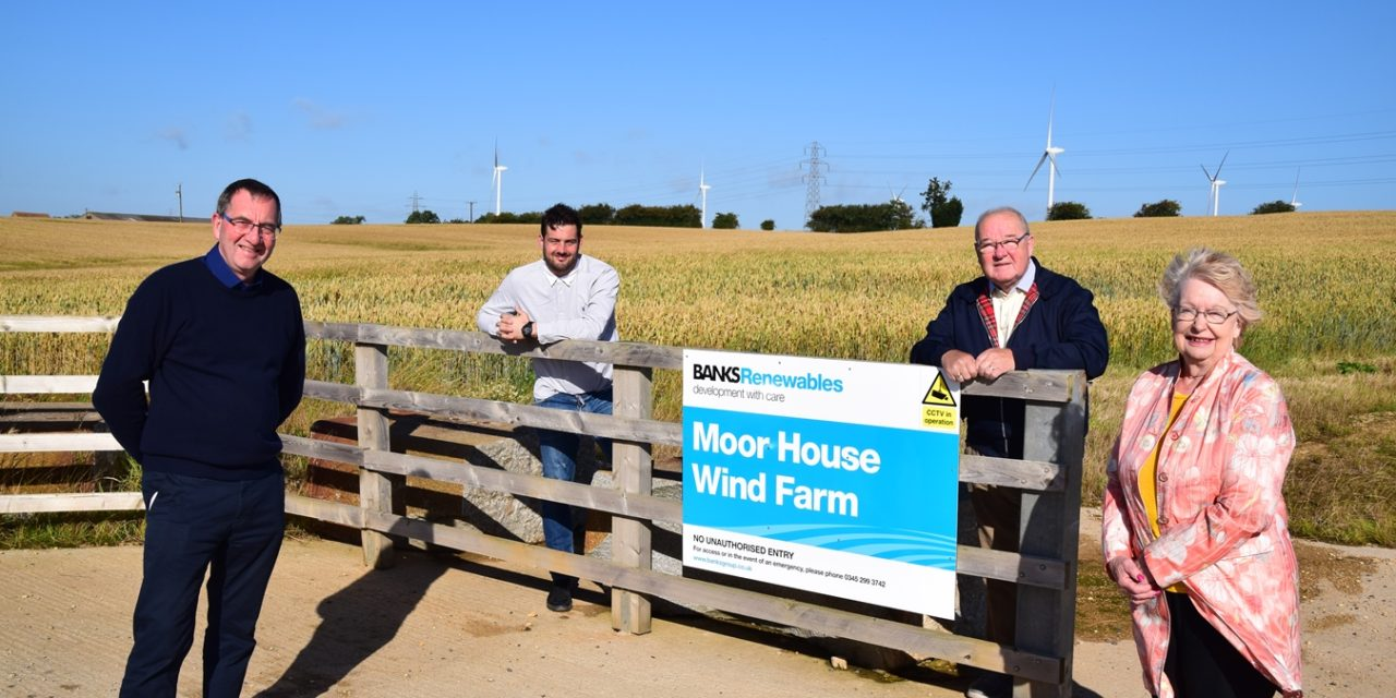 Local People And Businesses To Benefit From New Moor House Wind Farm Training Fund
