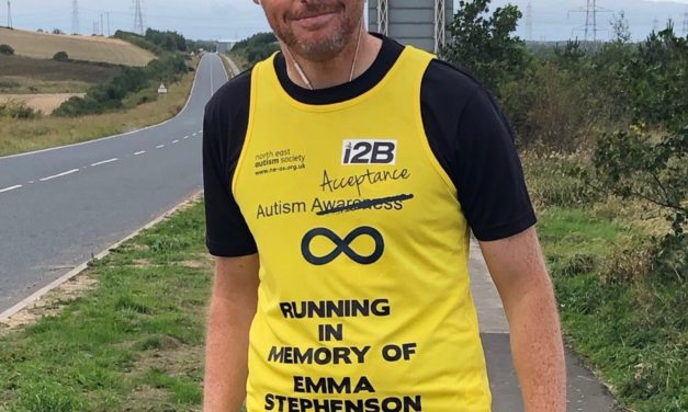 Generosity towards autism charity runs in the family