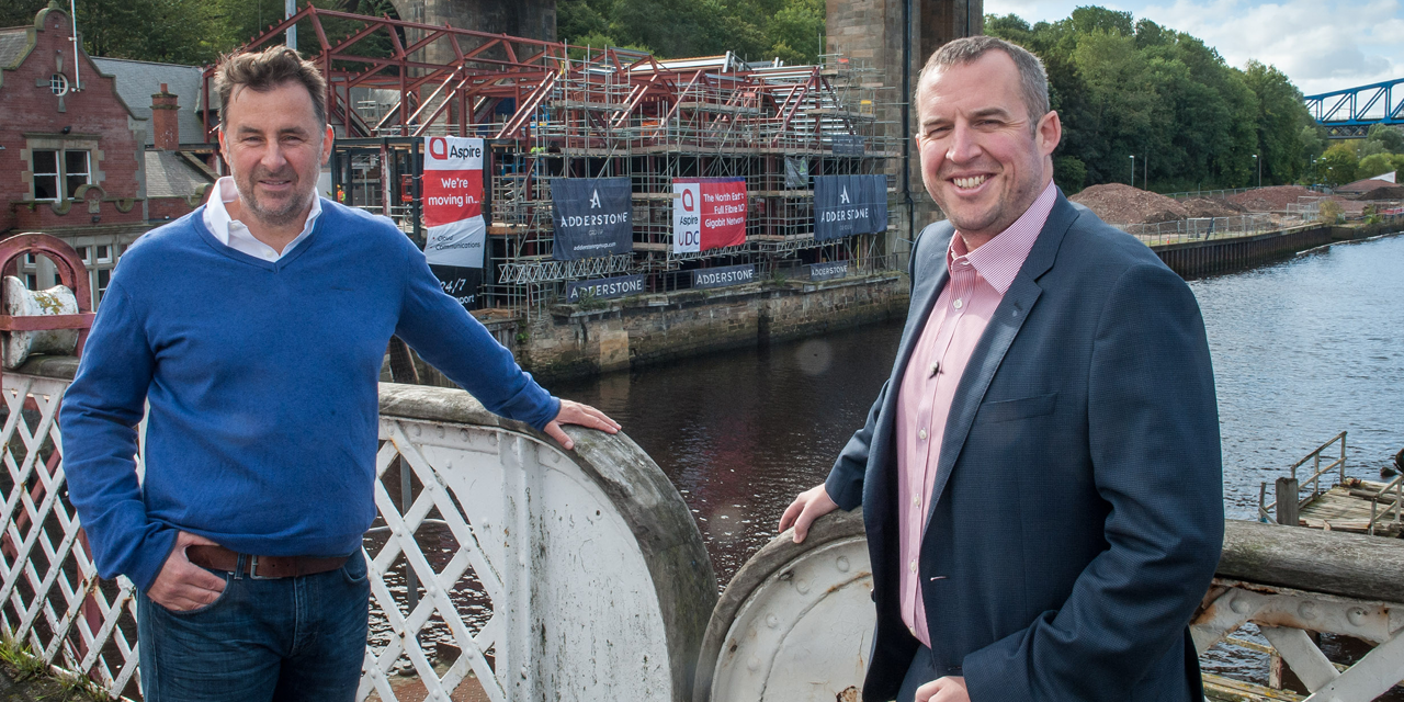 Aspire named as new tenant in Adderstone Group's landmark development on Gateshead Quays