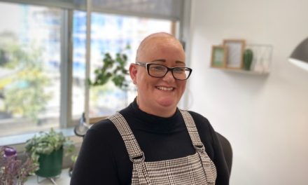 Natasha celebrates Alopecia Awareness Month with return to work