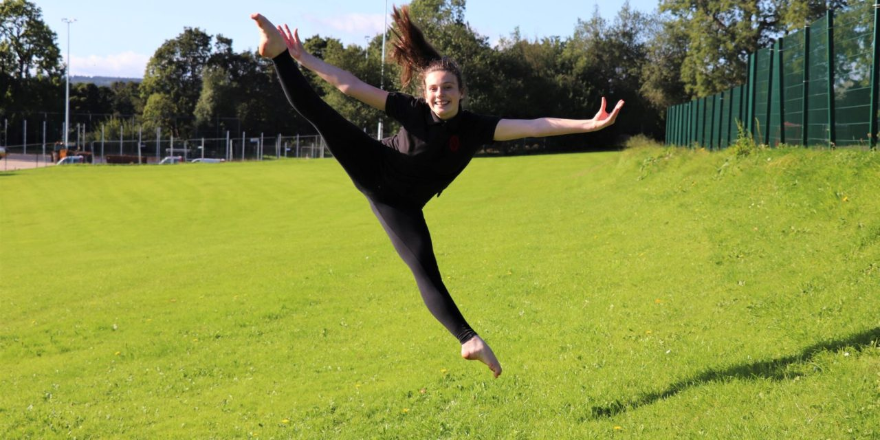 Double dance success for Olivia