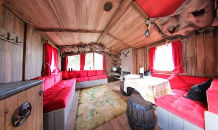Talk like a pirate day: The holiday home fit for a pirate
