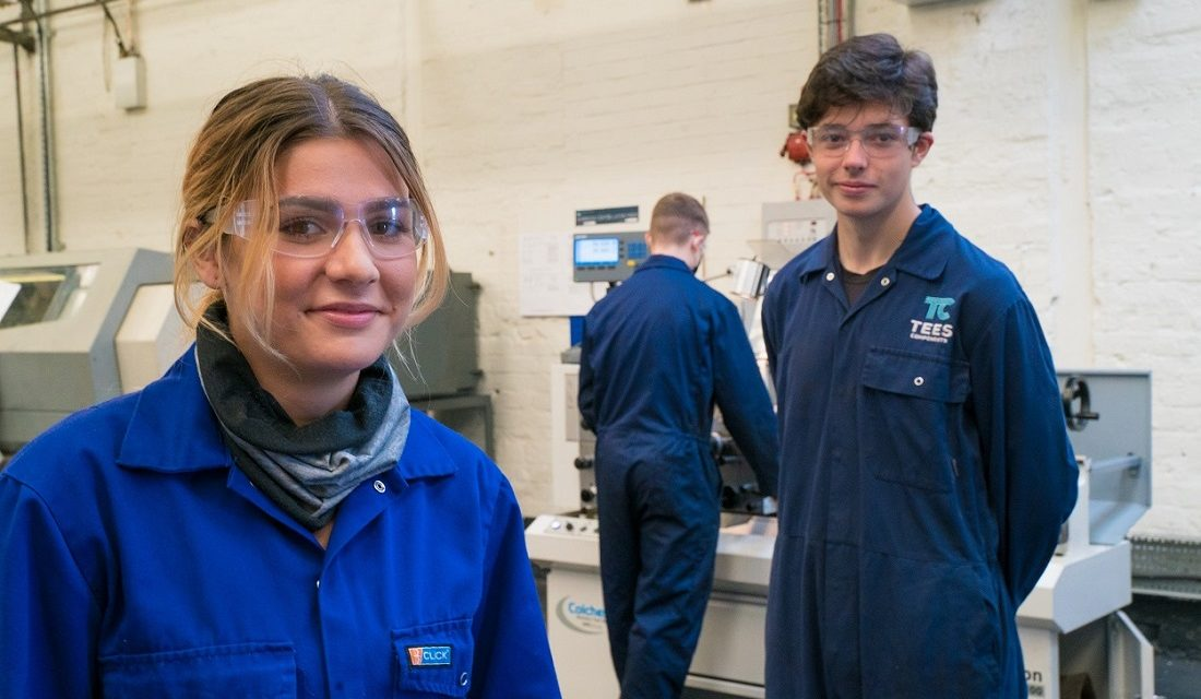Tees Components recruits new apprentices to support continued investment in its workforce
