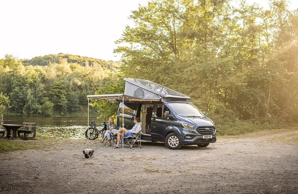 FORD INTRODUCES LONG WHEELBASE TRANSIT CUSTOM NUGGET CAMPER WITH MORE STORAGE SPACE AND NEW HYGIENE FACILITIES