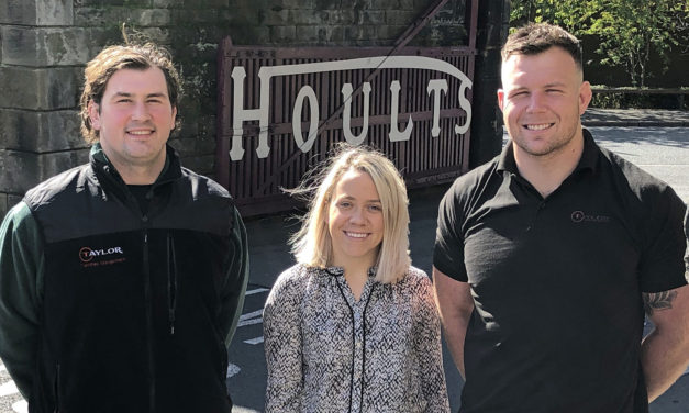 HOULTS YARD 'TAYLOR MADE' FOR GROWING COMPANY