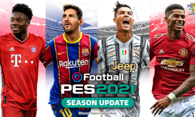 FINAL COVER REVEALED FOR eFootball PES 2021 SEASON UPDATE