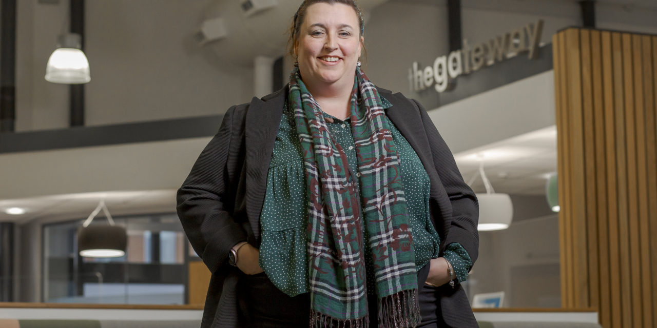 Helen's a first for helping families to a brighter future