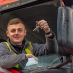 Moody Logistics' apprentice driver Alex gains maximum LGV distinctions