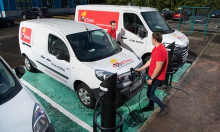 ALL-ELECTRIC RENAULT Z.E. VANS HELP THE FOOD TRAIN TO ROLL INTO EVEN MORE DESTINATIONS