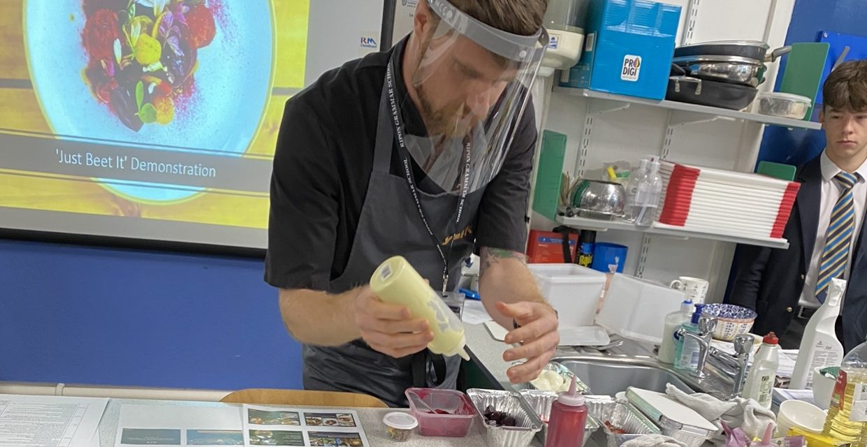 Students have cracking time with egg chef