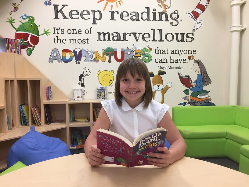 Story-telling competition winner is in David Walliams' good books