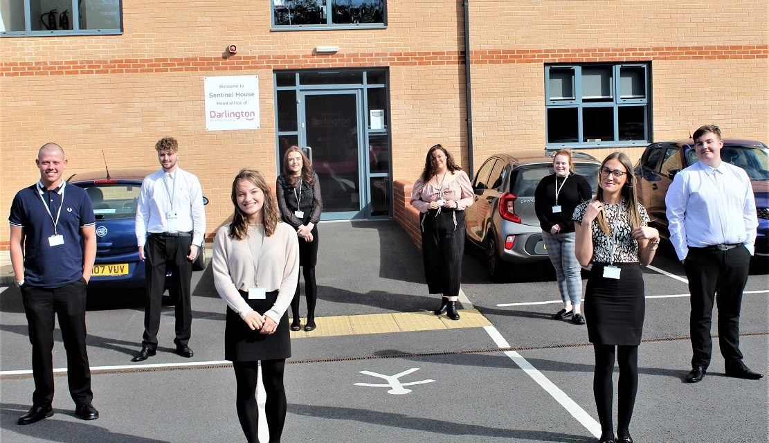 Darlington Building Society appoints eight apprentices in campaign to grow its own talent