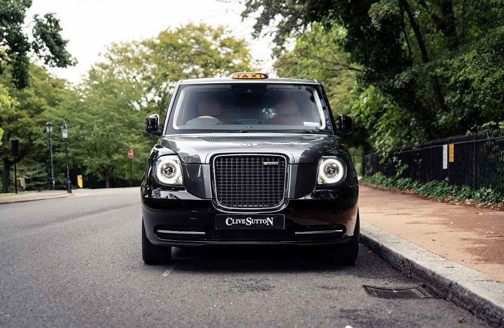 THE ULTIMATE URBAN RUNABOUT? SUTTON BESPOKE ANNOUNCES LIMITED RUN OF SUPER-LUXURIOUS LONDON TAXIS
