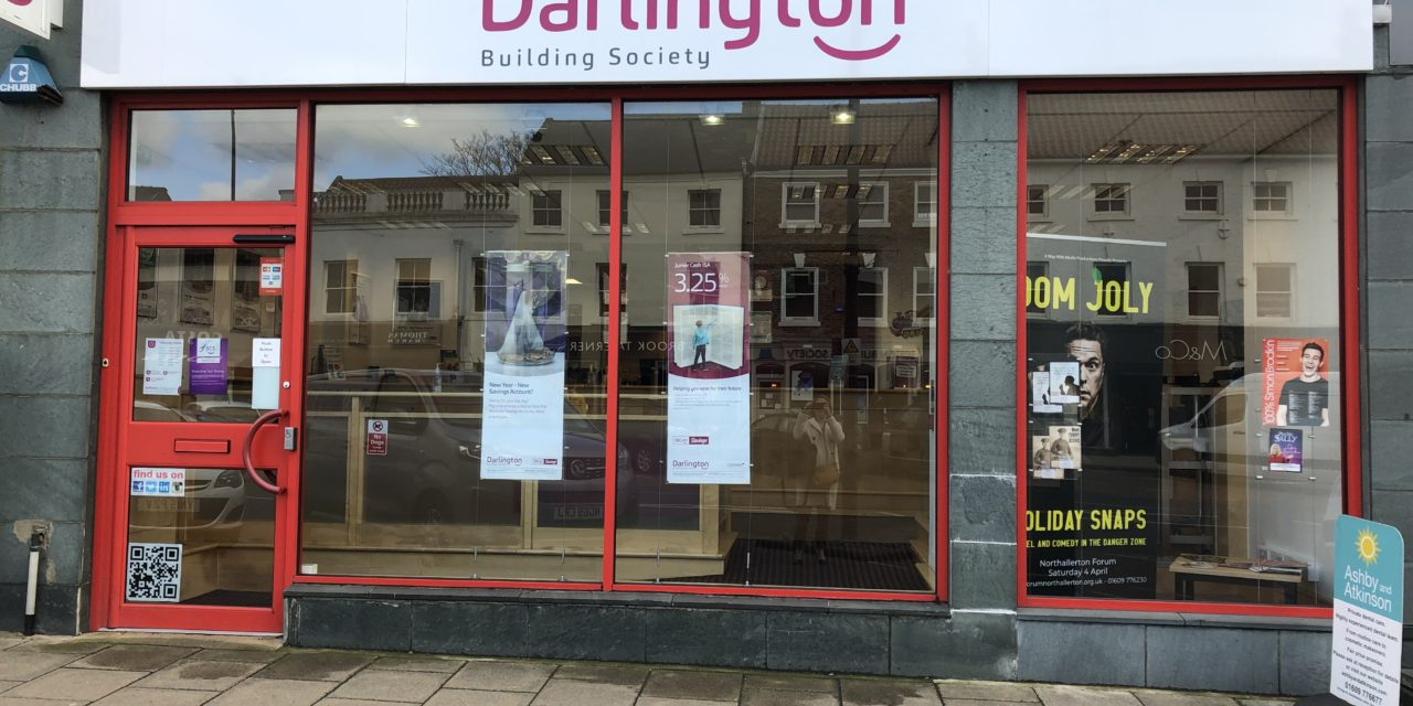 Darlington Building Society's investment continues with latest branch refurbishment