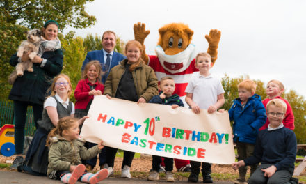 Middlesbrough nursery celebrates a 'roaring' success on 10th anniversary