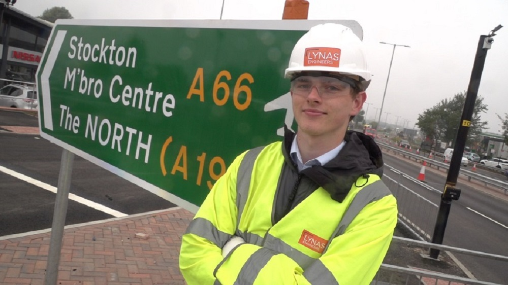 Young engineers earning while learning thanks to Teesside employer