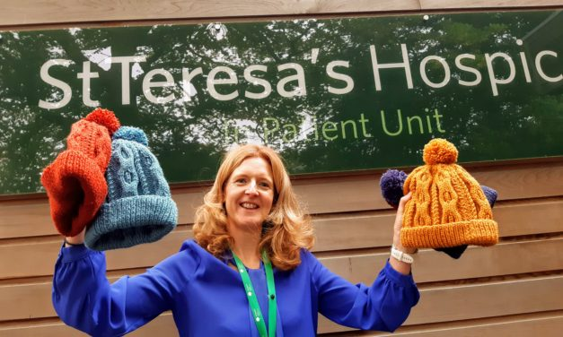 Hospice care inspires Lyn to launch fundraising drive