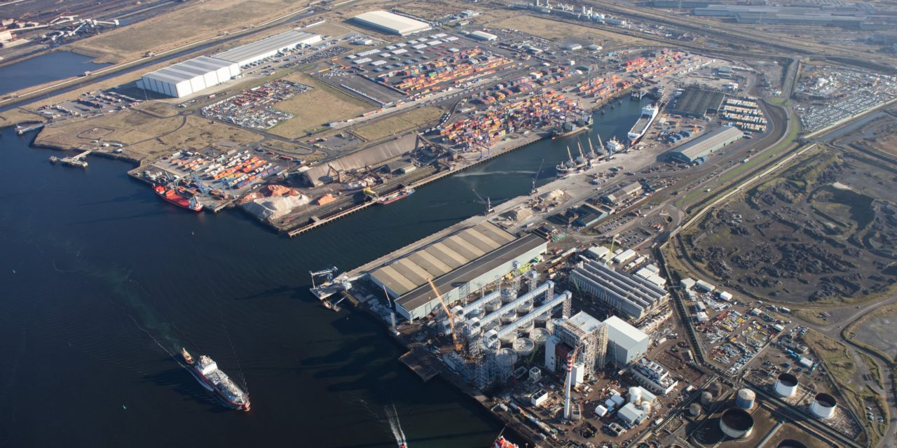 Teesport welcomes new container service from Bilbao