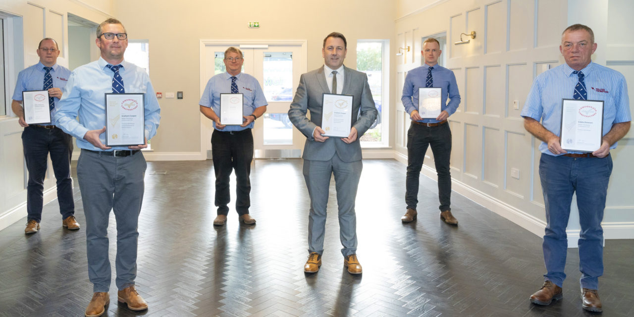 WALTER THOMPSON WIN GOLD IN NATIONAL CONSIDERATE CONSTRUCTOR AWARDS