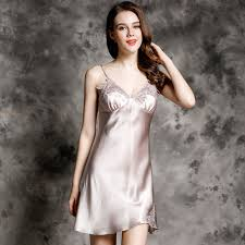 Live Luxurious Night By Wearing Silk Nightgown!