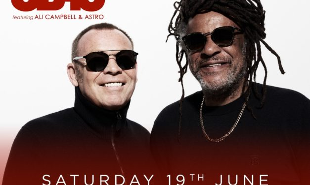 UB40 ft ALI CAMPBELL and ASTRO to play Scarborough Open Air Theatre in 2021