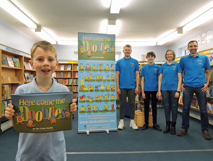 New children's picture book by North East family brings alphabet to life with adventure