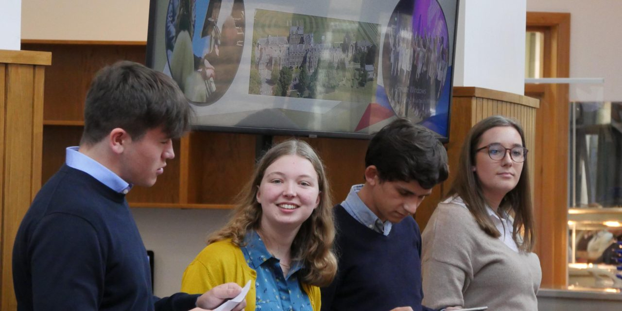 Students share experiences to encourage new sixth formers