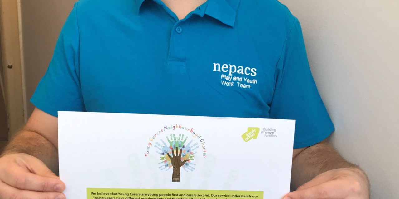 The Bridge Young Carers Works in Partnership with NEPACS