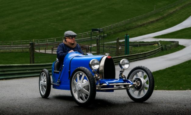 Bugatti Baby II gets the Bugatti Owners' Club stamp of approval