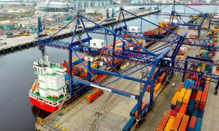 Teesport welcomes new Containerships route between the UK and the Baltics